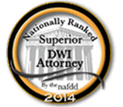 Nationally Ranked DWI Attorney